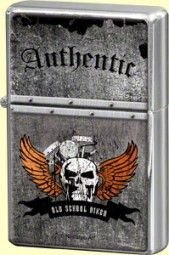 Feuerzeug Skull Authentic