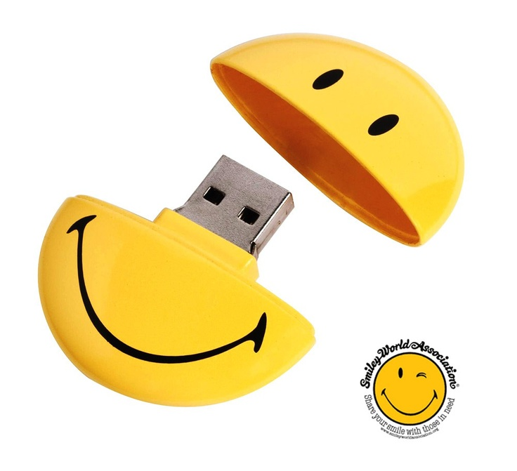 Happy Face USB drive