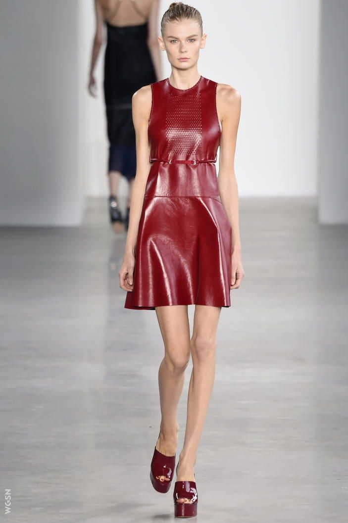 Calvin Klein Collection NYFW 2015- WGSN