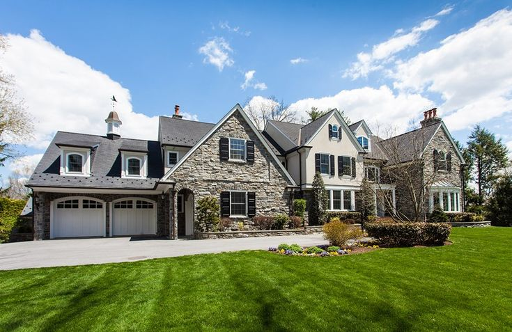 Location: 1101 Red Rose Lane, Villanova, PA Square Footage: 17,178 Bedrooms & Bathrooms: 6 bedrooms & 10 bathrooms Price: $5,395,000 This newly listed stone & stucco Colonial style mansion