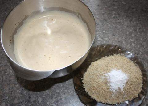Orechová torta - recept postup 1