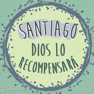 Nombres y significados -  Santiago