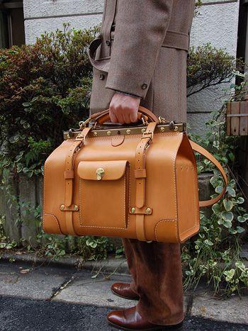 Herz | Gladstone Bag(グラッドストン・バッグ) M手持ち