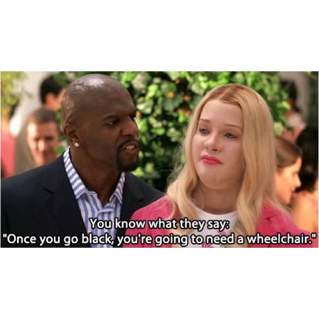 Terry Crews White Chicks Tongue