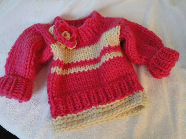 12 Months Pullover for  Anne-Lotte Lana Grossa Ragazza - Baby, Girls, Boys