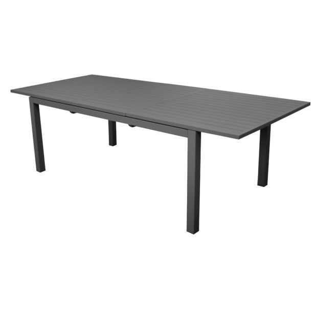 Table De Jardin Trieste Aluminium L200 280 L103 Cm Gris Table Home Decor Decor