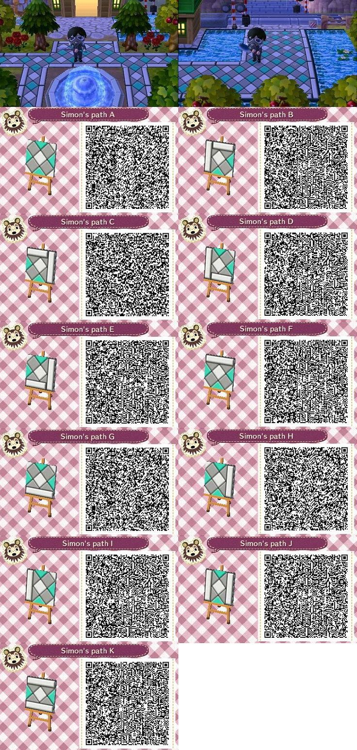 487 best animal crossing new leaf qr codes images on for Acnl boden qr codes
