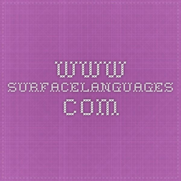 www.surfacelanguages.com-- Finnish language learning