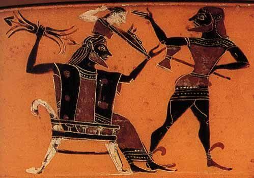 Griechische Götter -  Die Geschichte von Athenes Geburt aus dem Kopf von Zeus