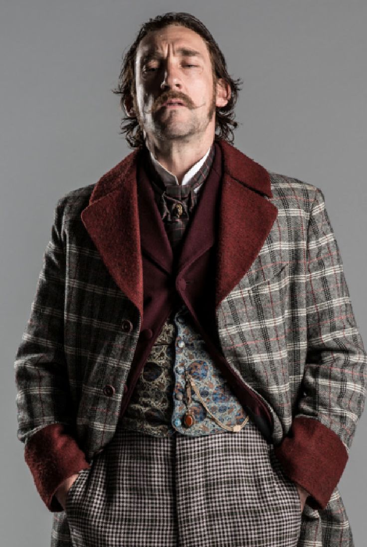 Joseph Mawle in Ripper Street as Jerediah Shine. He plays the baddie so, so well I can't blame them, really. He even pulls off the exotic plaid.