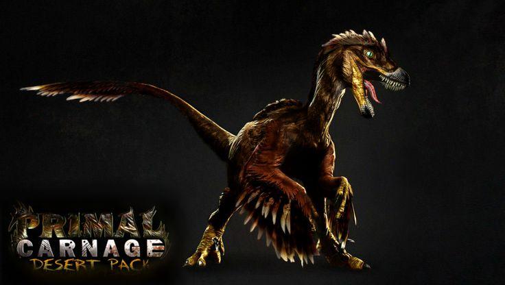 deinonychus primal carnage desert pack - Google Search