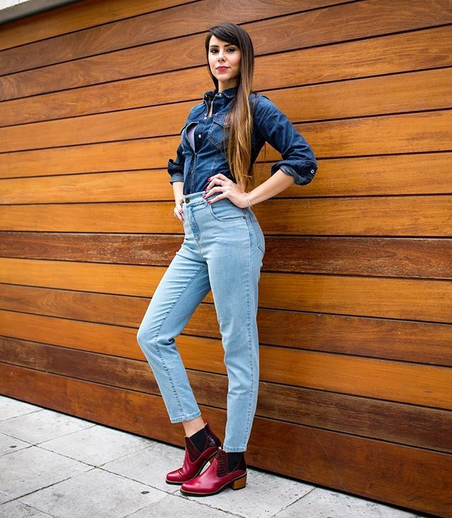 Camisa Lupe - Jean MOM Calcuta - Botas Marion
