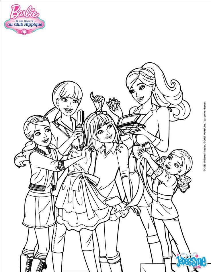 25 bsta Ausmalbilder barbie iderna p Pinterest  Barbie