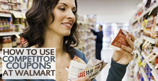How to Use Competitor Coupons at Walmart via MrsJanuary.com #coupons #extremecouponing