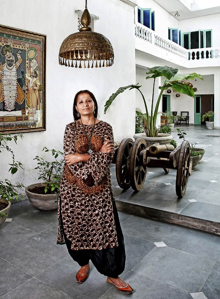 Serendipity Delhi & self-taught textile and furniture designer Kuldeep Kaur, the woman behind the remarkable store.
