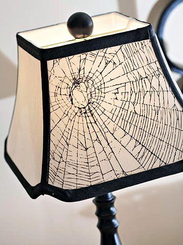 cute web lampshade
