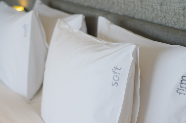 Soft and Firm pillows for guests' choice available in all rooms.