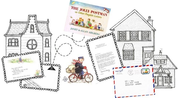 The Jolly Postman printables