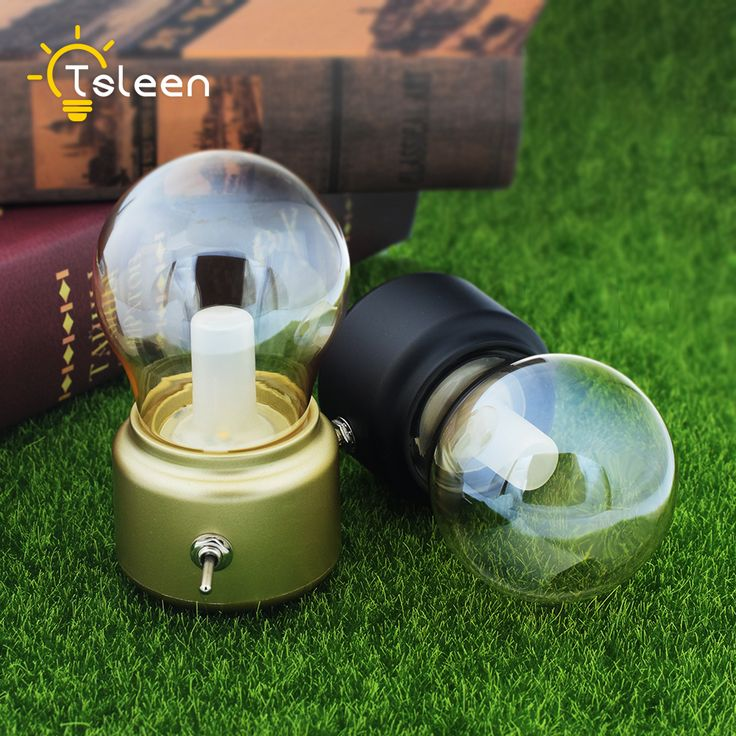 Vintage LED Bulb Night Light Retro USB 5V Rechargeable Battery Mood Luminaire Writing Desk Table Lights Portable Bedside Lamp. Yesterday's price: US $8.77 (7.25 EUR). Today's price: US $8.77 (7.22 EUR). Discount: 51%.