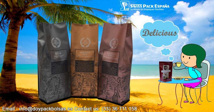 Our #CoffeeBags ( #BolsasParaCafé ) are equipped with Degassing valve one-way, which help in retaining the #freshness and #aroma of coffee for longer time. More Information Visit at http://www.doypackbolsas.es/bolsas-para-cafe/