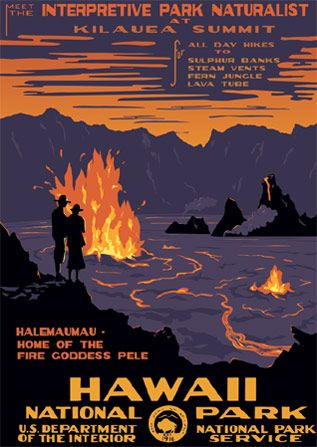 #Hawaii National Park  #Travel Vintage Posters USA multicityworldtravel.com We cover the world over 220 countries, 26 languages and 120 currencies Hotel and Flight deals.guarantee the best price