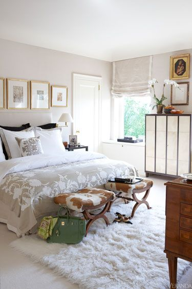 Luxe Upper East Side Apartment | Adrienne Vittadini Design via Veranda. #laylagrayce #bedroom