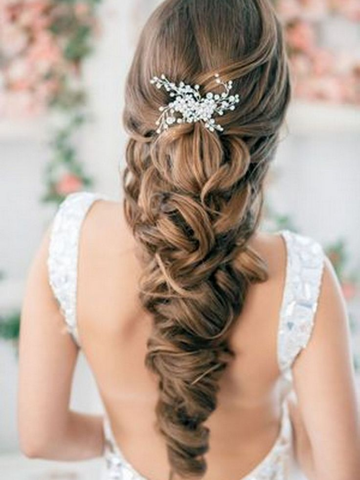 Wedding-hair-down-do-inspiration-curled-intertwined