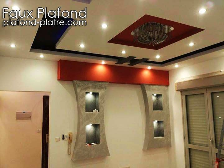 17 best images about faux plafond on pinterest coiffures for Modele plafond maison