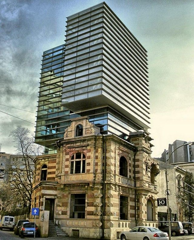The most beautiful pictures of Romania: National Architects Union Headquarters (Bucharest, Romania)