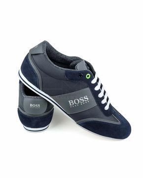 9fab6b29184ee Zapatillas Hugo Boss ® Lighter Lowp - Azules | ENVIO GRATIS #Sneakers
