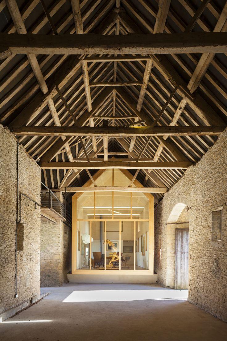 Pod Gallery barn restoration by Stonewood Design