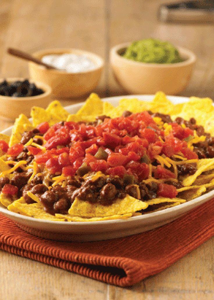Cowboy Nachos – zesty nachos with a hearty flavor big enough to ...