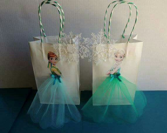 Frozen theme bags
