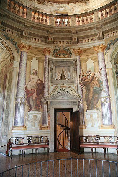 "Villa Capra (""La Rotonda"") interior."