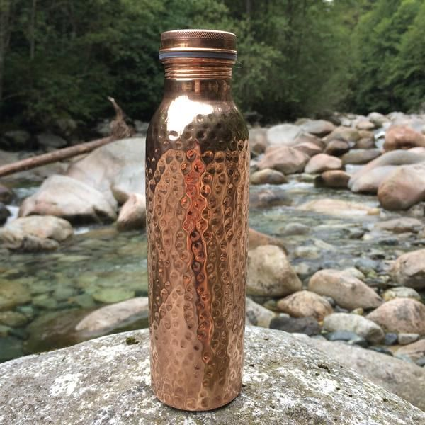 Copper Water Bottle | Amazing Health Benefits | Ayurveda | Handmade | Copper H2O