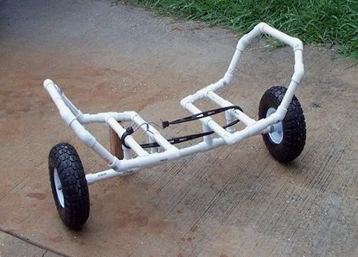 Build Your Own Kayak Cart Ideas - Kayaking and Kayak Fishing Forum ...