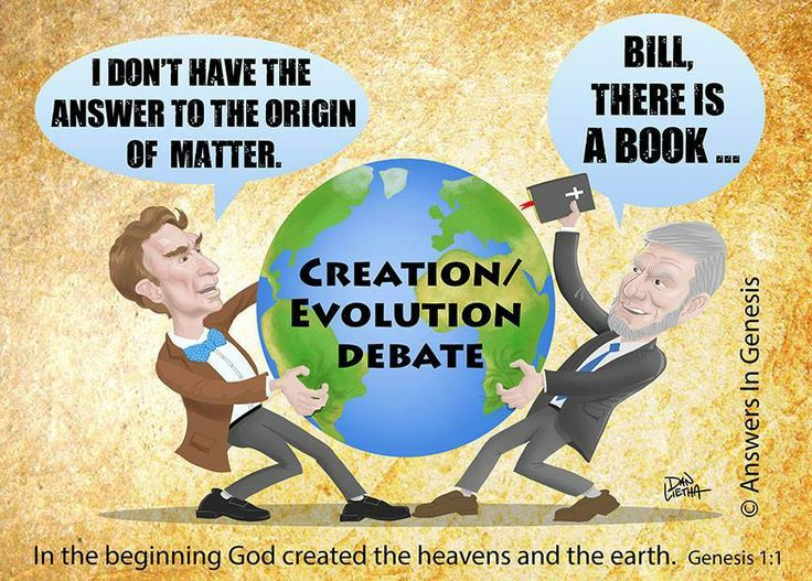 85 best images about Creation 'VS' Evolution on Pinterest | Bill ...
