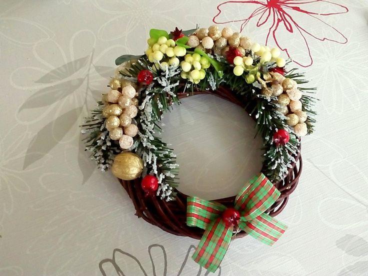 Wianek, stroik na Boże Narodzenie | Szysia