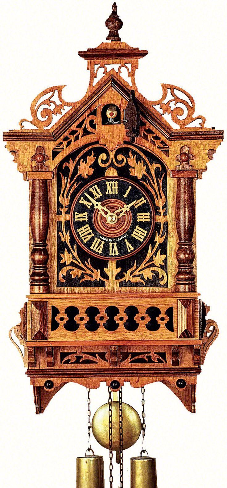 Reloj de cuco estilo antiguo movimiento mecánico de 8 días 44cm de Rombach & Haas