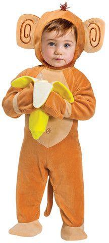 Para este #halloween un #disfraz de #changuito para tu #bebe sólo en #bebe2go