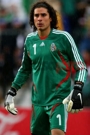 OCHOA. MAN OF THE MATCH in the Mexico vs Brazil game. He was amazing.