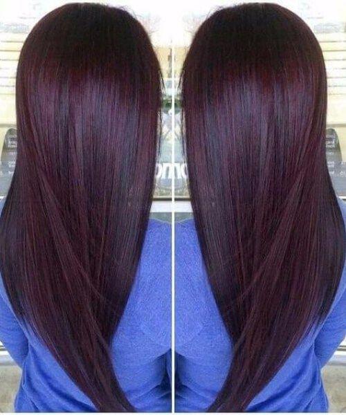 Best 25 Chocolate Cherry Hair Ideas On Pinterest Dark
