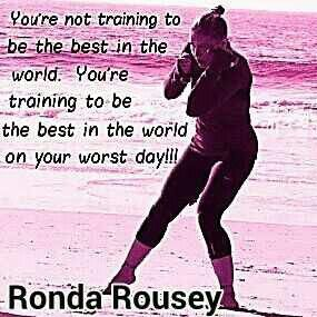 Ronda Rousey quote