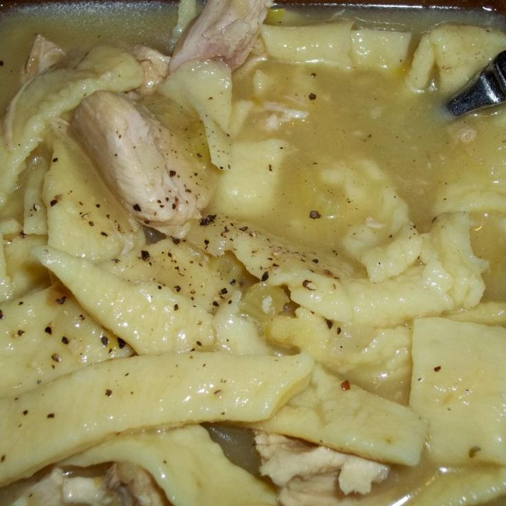 Homemade Noodles And Turkey Delicious Recipe In 2019 Homemade Egg Noodles Turkey Noodles