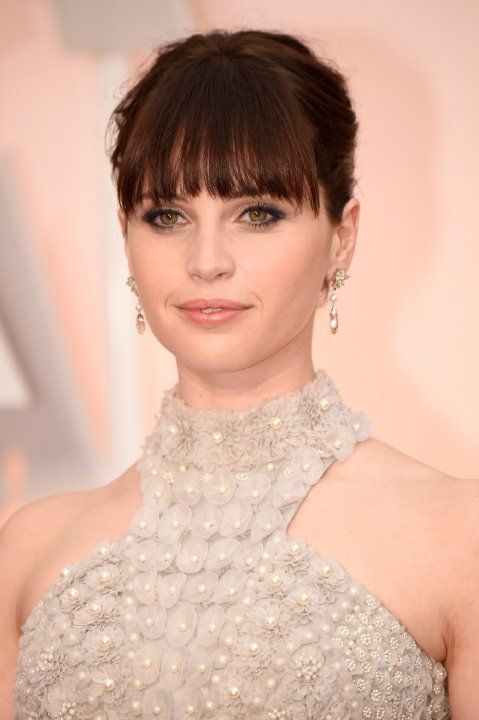 Felicity Jones at event of The 87th Annual Academy Awards (2015)