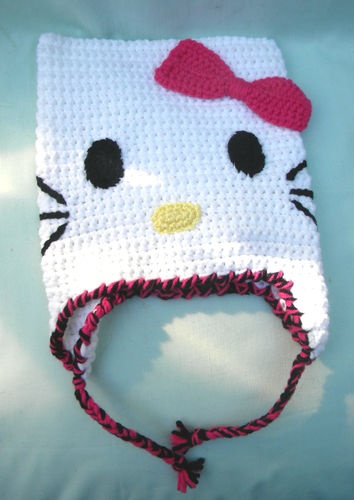'Hello Kitty Ear Flap Hat' is going up for auction at  1pm Mon, Oct 29 with a starting bid of $10.