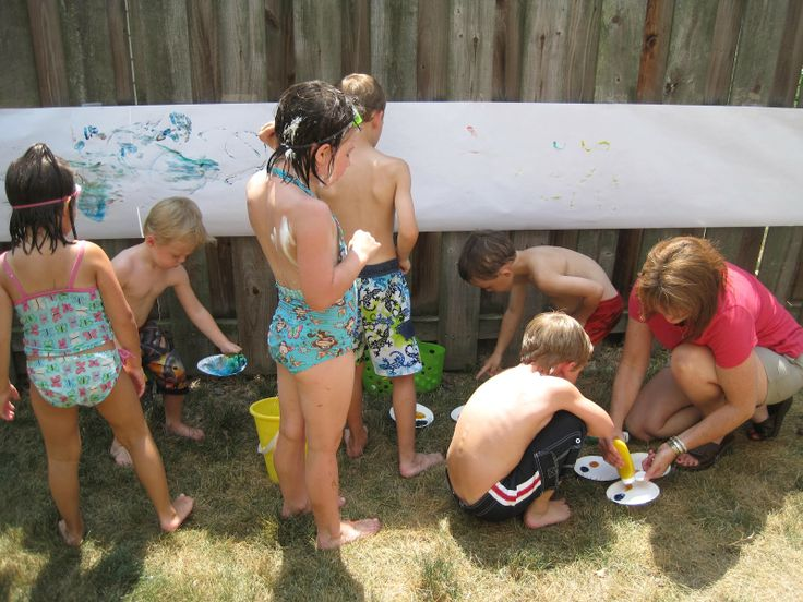 Water Birthday Party. Cute ideas on this ladies website!!
