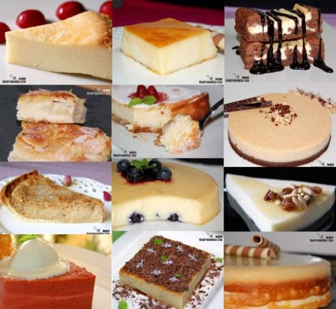 12 Tartas de Queso (Thermomix)