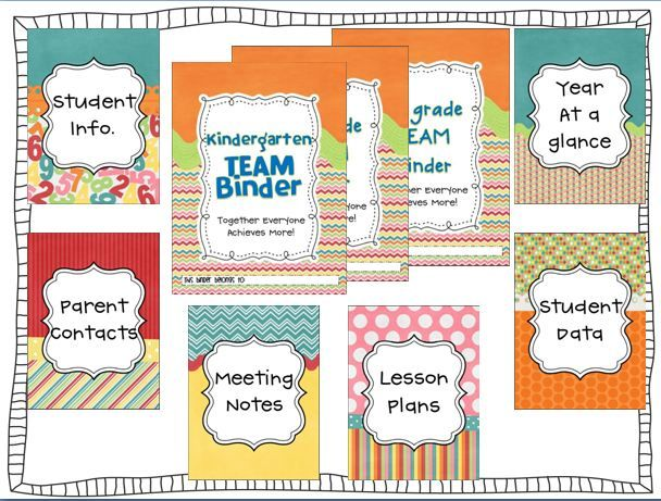 FREE Teacher Binder pages! SUPER CUTE!