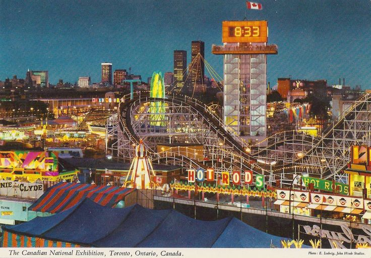 I can almost smell the CNE in Toronto in this picture! Memories!